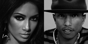 Nicole Scherzinger Pharell William